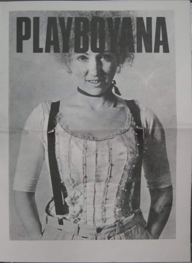 Performing borders Playboyana