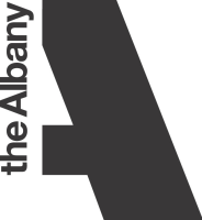 Albany logo mono vertical PNG
