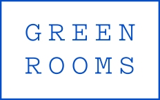 Green Rooms Logo Blue